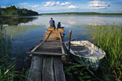 Рыбалка − хобби настоящего мужчины