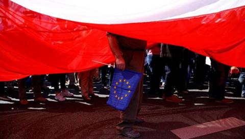 Слон и моська: Польша боретс…