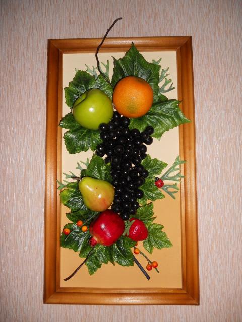 Искусственные фрукты своими руками фото