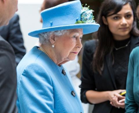 Королева Великобритании Елиз…