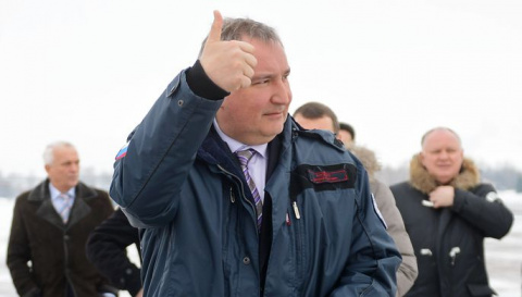 Рогозин одним словом ответил…