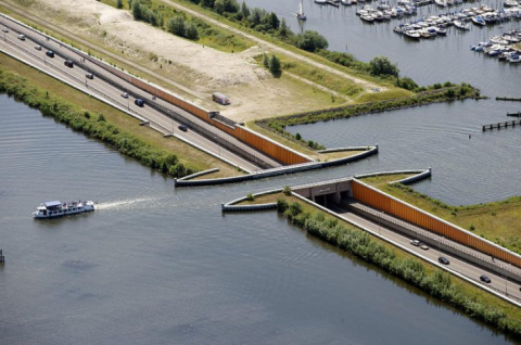 В Голландии построили водный…