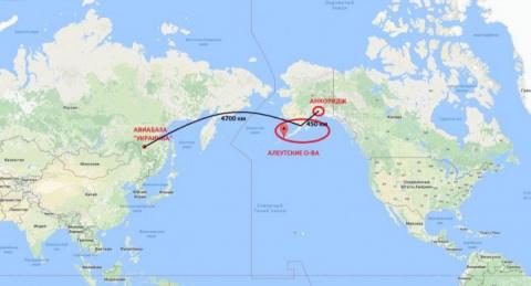 Зачем бомбардировщики РФ в небе над Аляской?