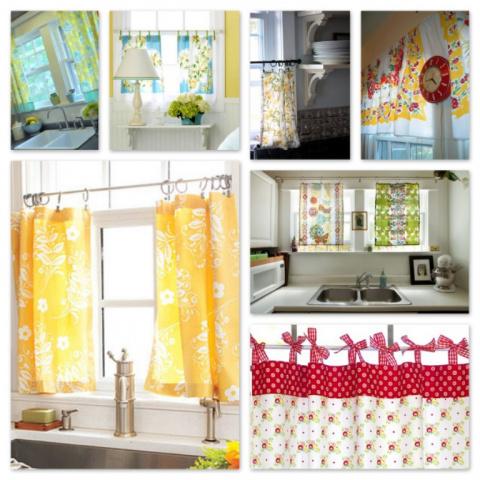 Советы дизайнера по оформлению кухонных окон