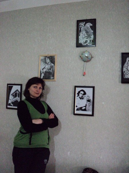 Работа Михаэля Деспоташвили. Художественное вырезание