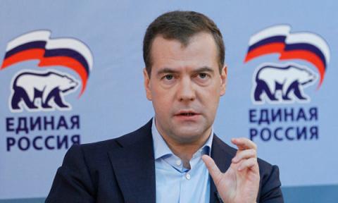 Медведеву места нет