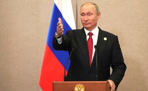 Владимир Путин о поддержке ж…