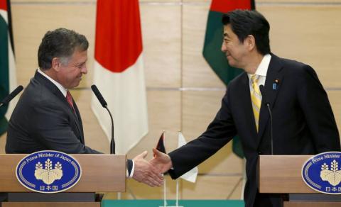 Абэ пообещал ¥2 млрд. помощи Иордании