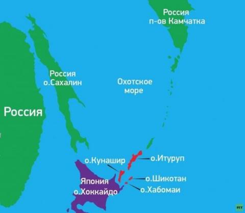 Украина готова уступить Япон…
