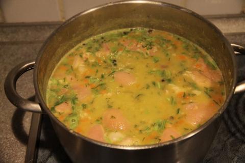 Вкуснейший гороховый голландский суп