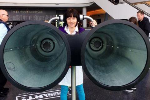 Binaudios - огромное прослушивающее устройство для туристов