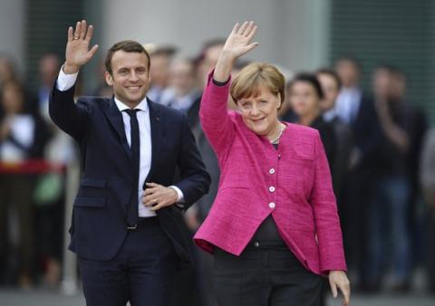 Меркель, auf Wiedersehen! Bonjour, Париж!