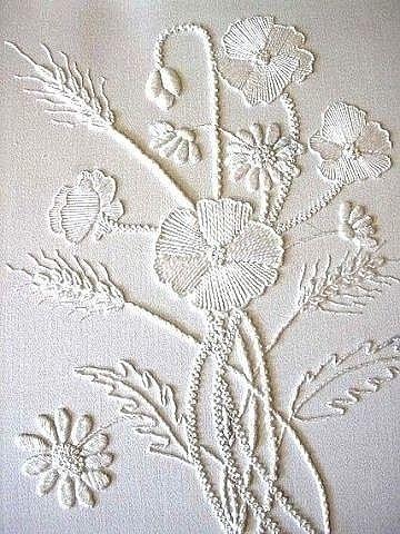 Вышивка белым по белому - эт…