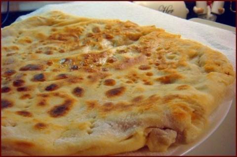 Лепёшка с картофельной начинкой