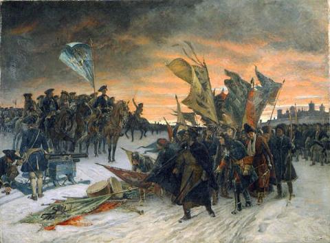 Военнопленные шведы в России…