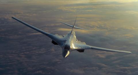 Британские истребители подняты на перехват российских бомбардировщиков Ту-160