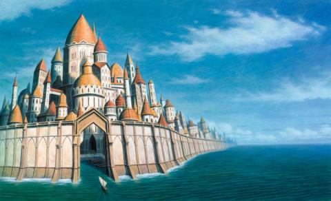 Мистика древнего затонувшего бретонского города Кер-Ис