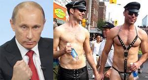 Педерасты, лесбиянки, педофилы и прочие извращенцы в неравной борьбе против Владимира Путина