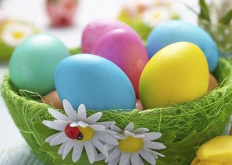 Корзинки для пасхальных яиц своими руками! (идеи и МК). Шарфик с объемными розами