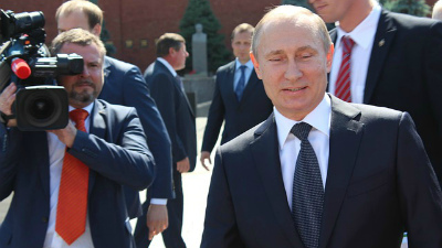 Путин посетил презентацию кн…