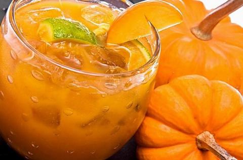 Тыквенный сок с апельсином—…