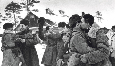 18 января 1943 года прорвана блокада Ленинграда
