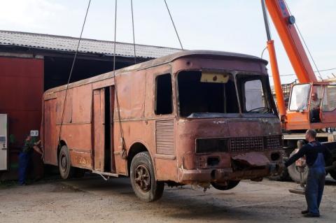 Реставрация КАвЗ-3100