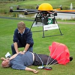 Ученые создали дрон-дефибриллятор