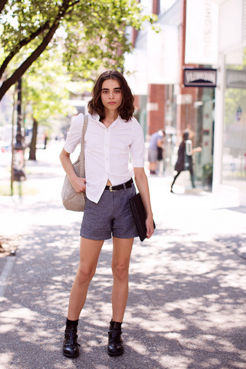 On the Street…West Broadway,…