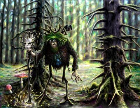Чёрт из леса