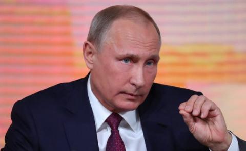 «Володимир Путiн – президент Украiни»: в Сети обсуждают конфуз украинского канала