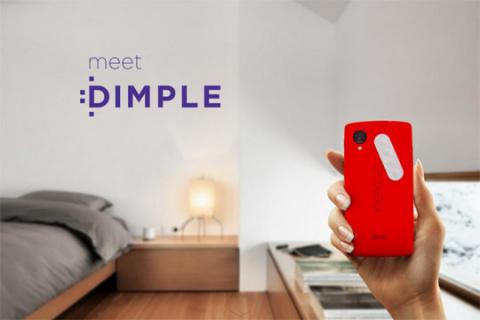 Наклейка Dimple обеспечит мобильные девайсы дополнительными кнопками