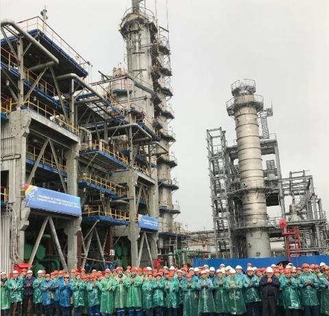 ПАО «Нижнекамскнефтехим» ввело в эксплуатацию установку по выпуску формальдегида