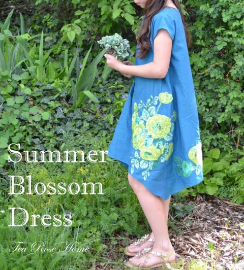 Очаровательное бохо платье с аппликацией