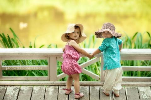 Ошеломительные детские фотографии от Елены Карнеевой