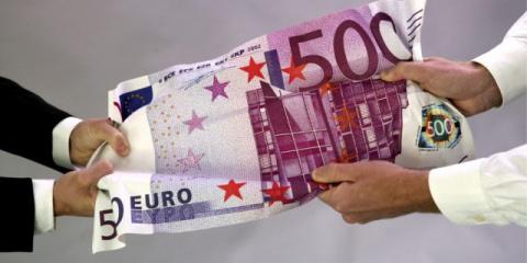 Немцы платят наличными чаще всех в еврозоне