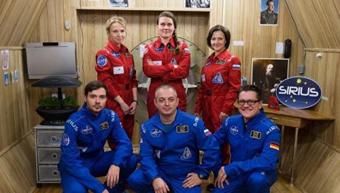 Подготовка к полету на Луну: 6 исследователей проведут в изоляции 17 дней