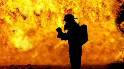 В Красноярске полностью сгор…