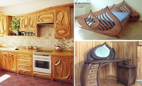 Актуальные идеи элементов интерьера и декора из натуральной древесины, которая никогда не выйдет из моды