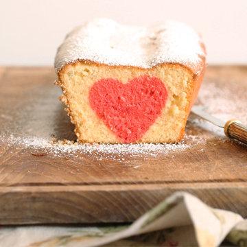 Как испечь пирог с сердцем ко Дню св. Валентина