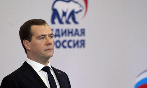 Председатель «Единой России»…