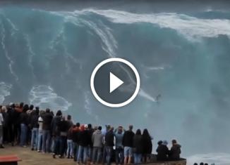 Самые огромные волны в мире.