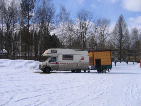 Лучше позже, чем никогда :)). Отчёт по закрытию зимнего сезона Банного городка.