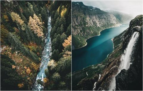 Величественные горные пейзажи на фотографиях, сделанных на самых красивых хребтах мира