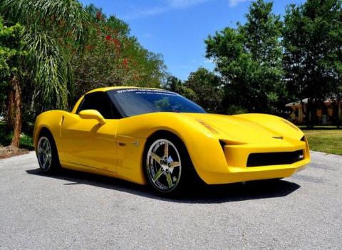 Реплика Chevrolet C7 Corvette Stingray, которая выглядит просто ужасно