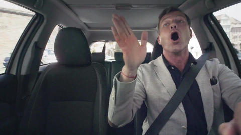 Когда поет водитель