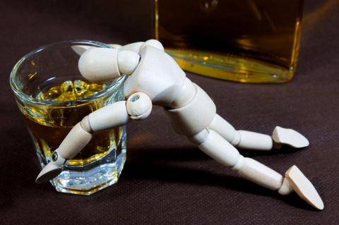 Алкоголь портит систему поощрения
