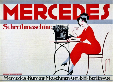 """""""Милочка, напечатайте две странички, пожалуйста…"""" — Mercedes это не только автомобили"""