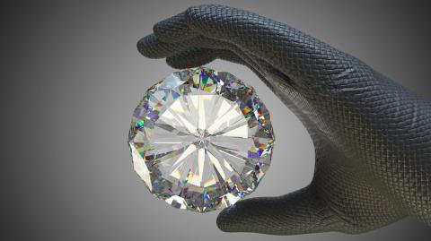Откуда в небе алмазы?