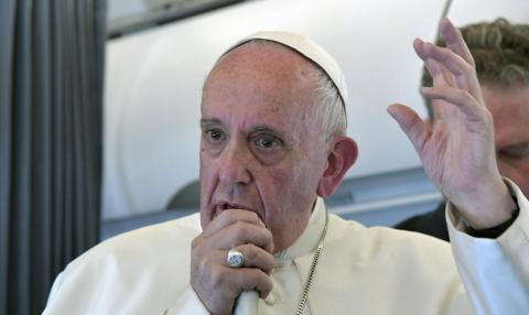Папа римский вызвал украинского посла из-за антицерковных законопроектов